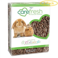 Carefresh Natural Small Pet Bedding 60 Liters - Pack of 2