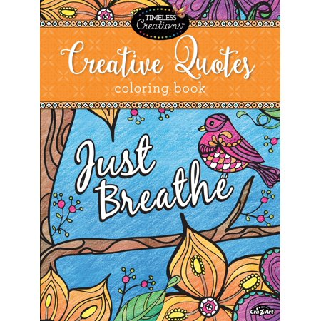 Creative Quotes Coloring Book