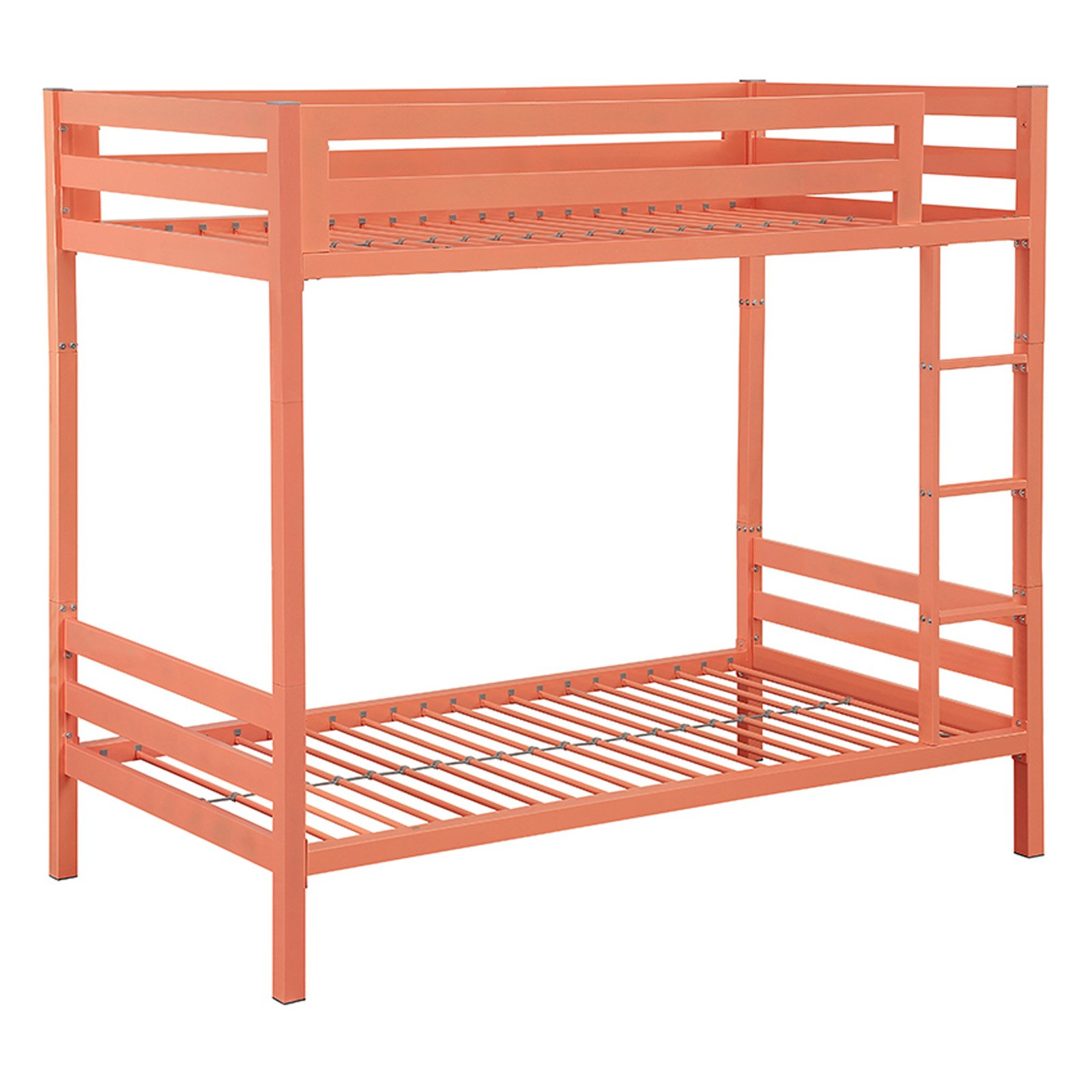 Walker Edison Bentley Twin over Twin Metal Bunk Bed