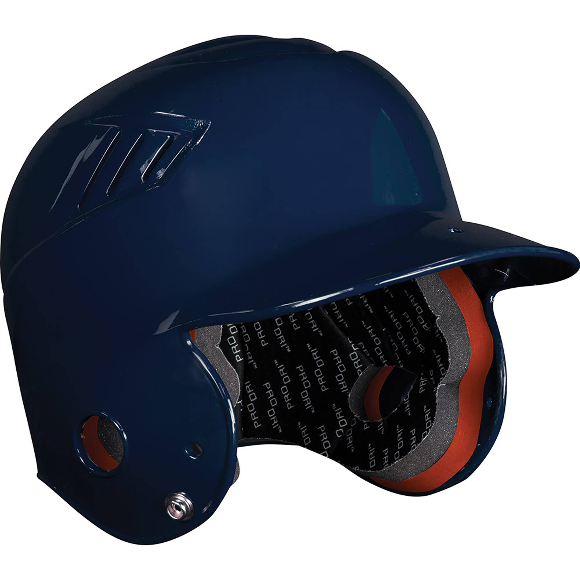 Rawlings Baseball CFTBN-N Coolflo Molded Tee Ball Helmet, Navy Blue