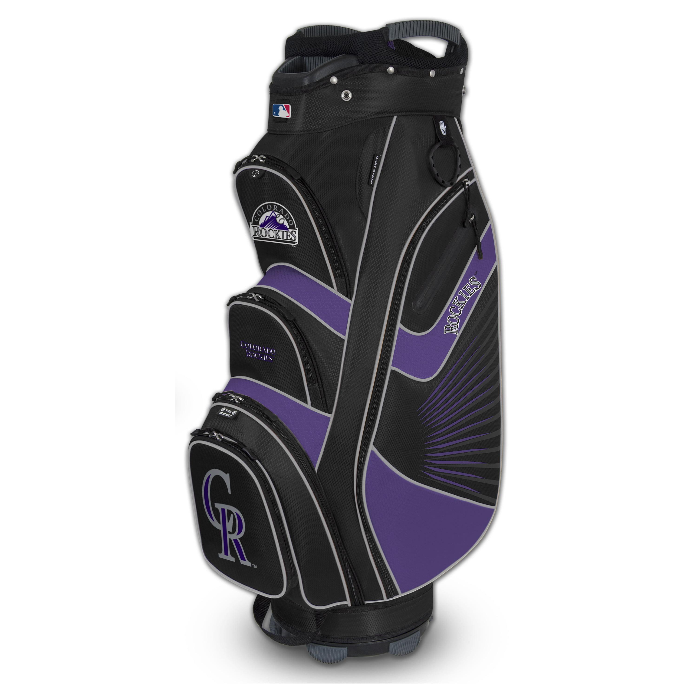 Colorado Rockies Bucket II Cooler Cart Golf Bag - No Size