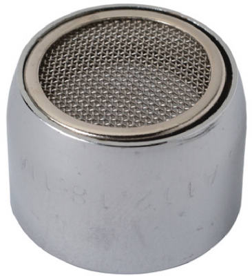 Faucet Aerator, Female, Chrome-Plated Brass, 3/4-In. x 227-Thread
