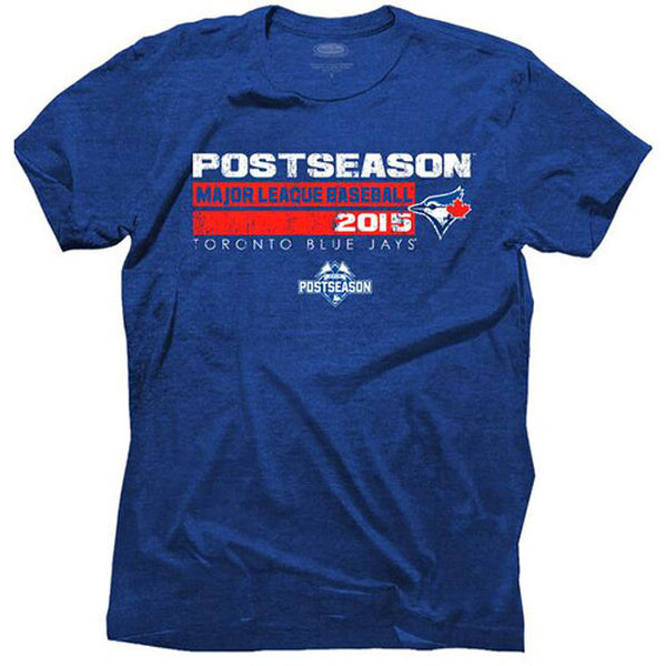 Toronto Blue Jays Majestic Threads 2015 Postseason Premium Tri-Blend T-Shirt - Royal