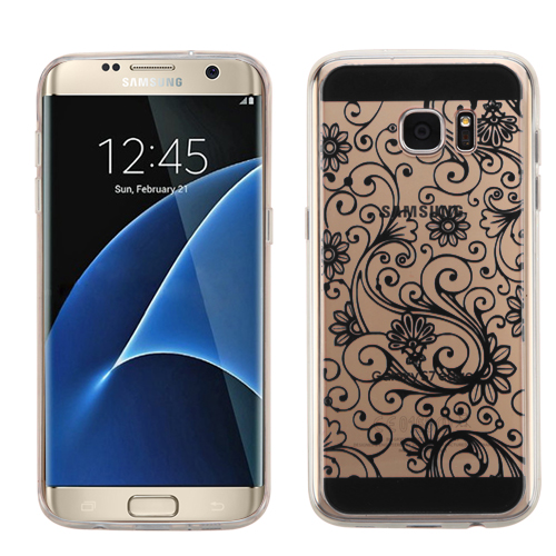 For Samsung Galaxy S7 Edge Four-leaf Clover Candy Skin Slim Phone Cover Case