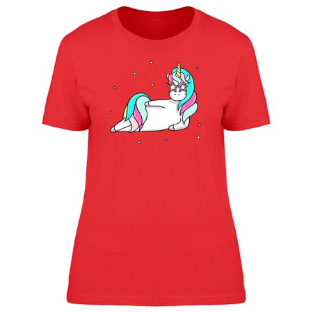 Unicorn With A Cool Pose Tee Women's -Image by Shutterstock