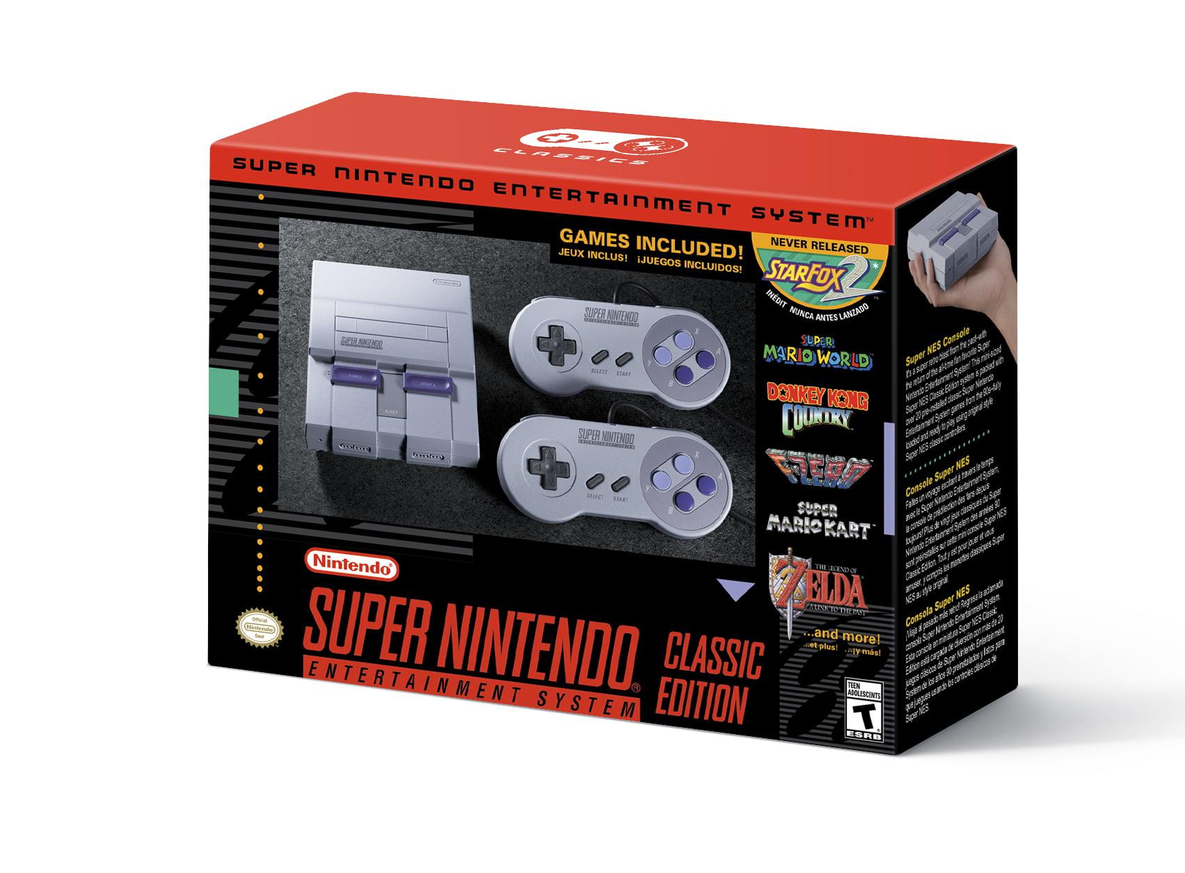 Nintendo Super Nes Classic Edition Universal Clvssnsg Walmart Com