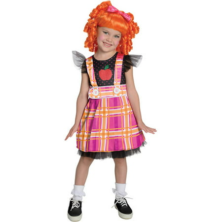rubies lalaloopsy deluxe bea spells a lot child halloween costume