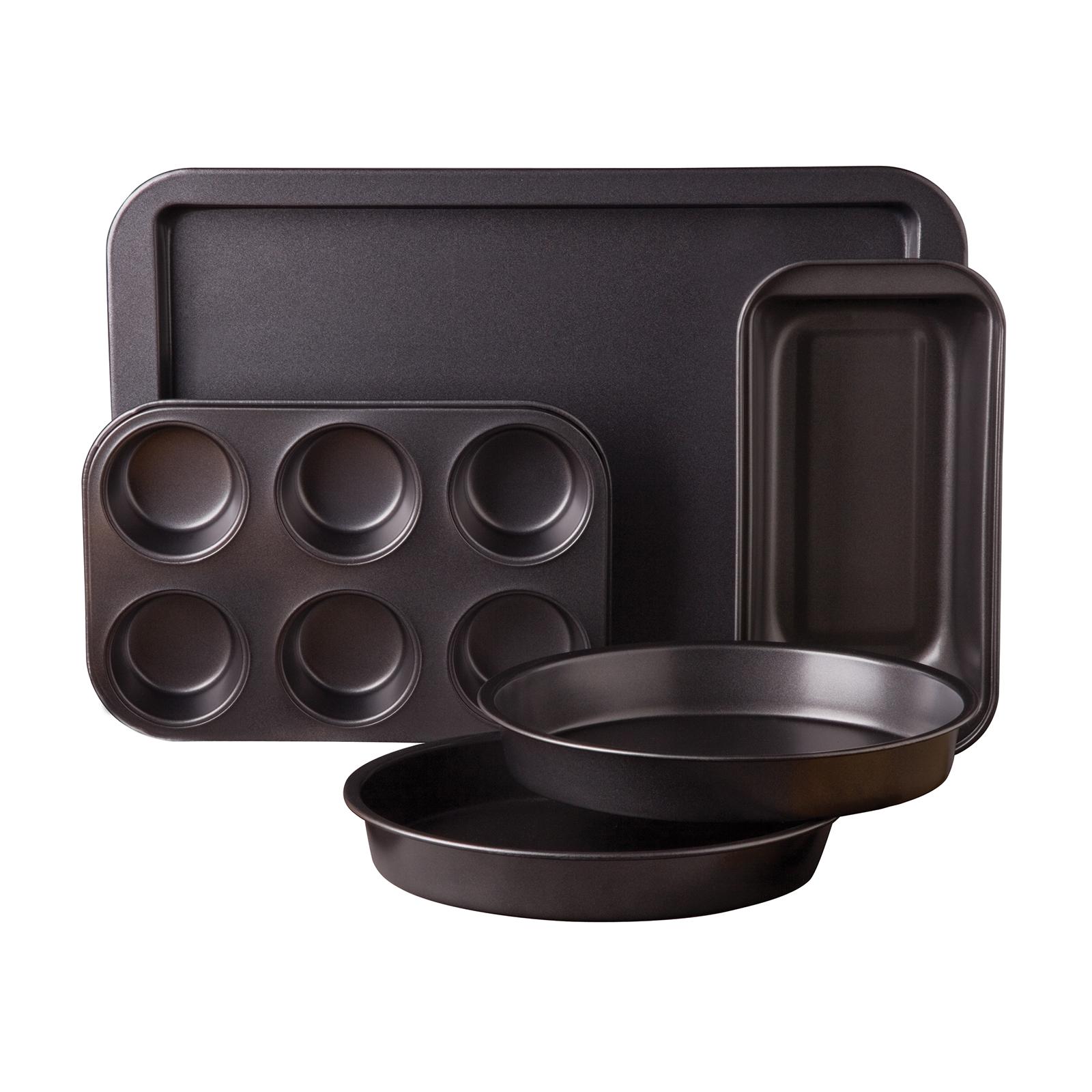 Gibson Sunbeam Kitchen Bake 5 piece Bakeware Set