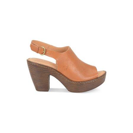 dada5760b170 B.O.C - B.O.C Womens Fatema Leather Open Toe SlingBack Mules ...