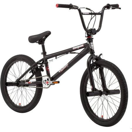 "20"" Mongoose Brawler Pro Style Boys' BMX Bike by"