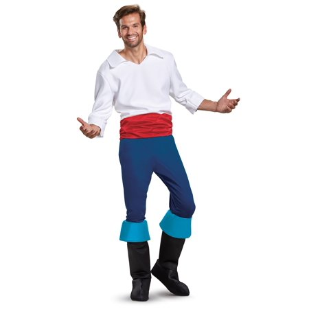 Prince Eric Deluxe Mens Costume - Prince Eric Costume Little Mermaid