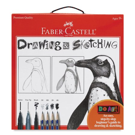 Faber- Castell Do Art Drawing and Sketching Set: Ages 9+ (Faber Castell Jumbo Grip)