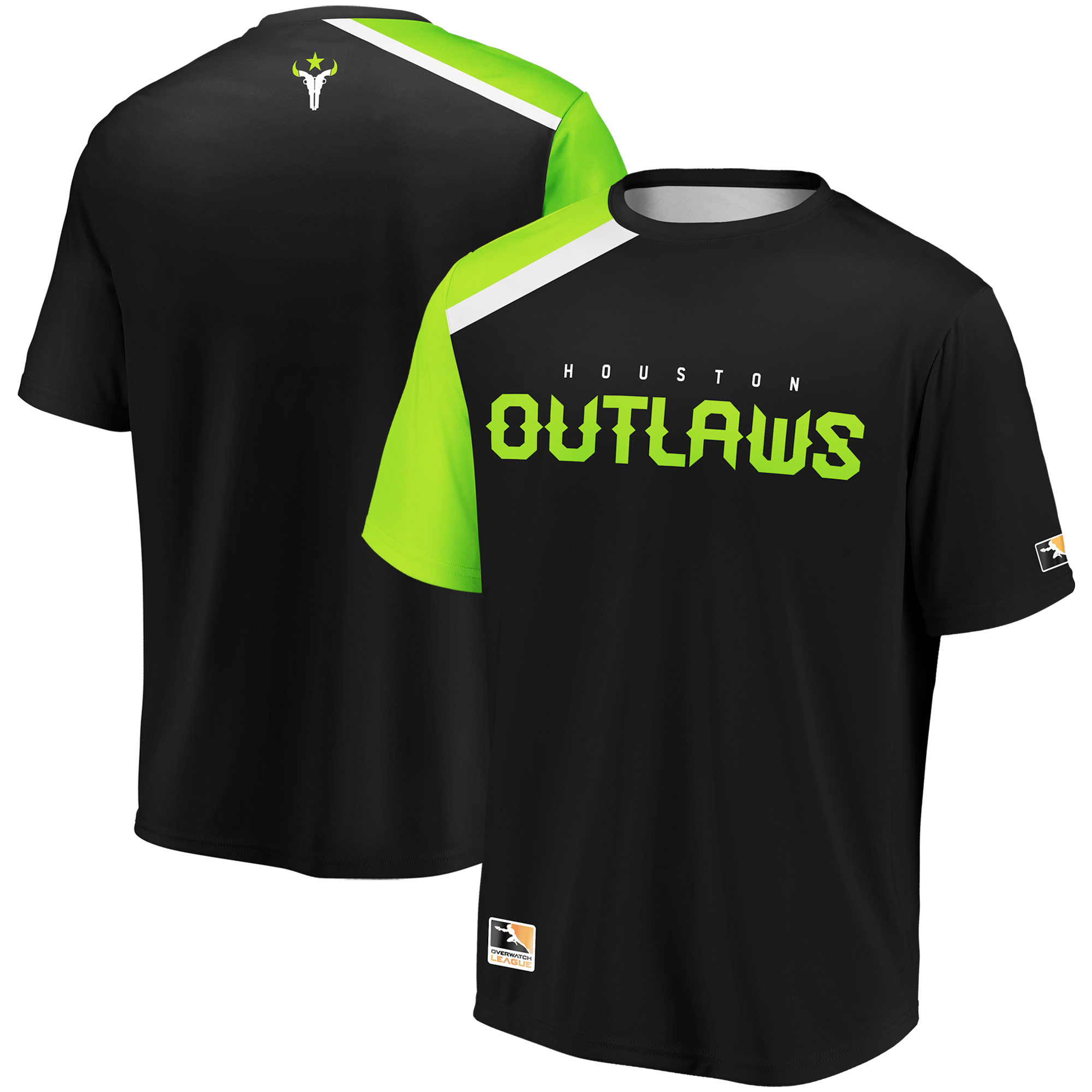 Houston Outlaws Overwatch League Replica Home Jersey - Black