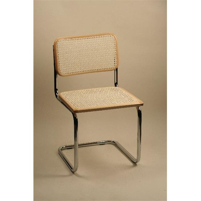 Alston Quality 1-33-Walnut Breuer Side Chair Cane