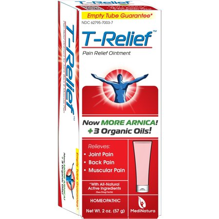 T-Relief Joint, Muscle & Back Pain Relief Ointment, 2