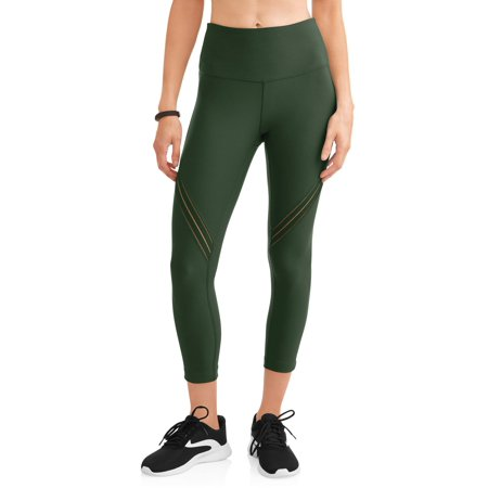 955af12f0b48d1 Avia - Avia Women's Active High Rise Performance Filament Insert Capri  Legging - Walmart.com