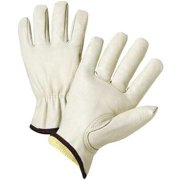 West Chester Glove Size L Leather Palm Gloves,KS990K/L