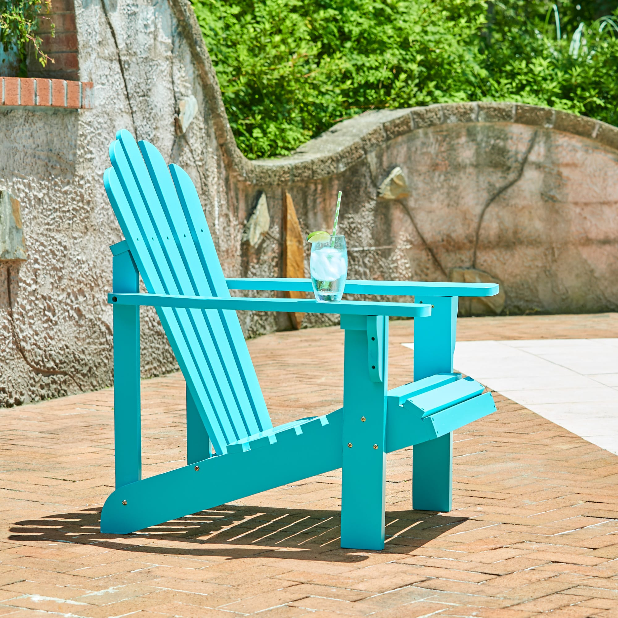 Shine Company Westport Adirondack Chair - Aqua