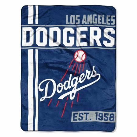 "MLB Los Angeles Dodgers ""Walk Off"" 46""x 60"" Micro Raschel Throw"
