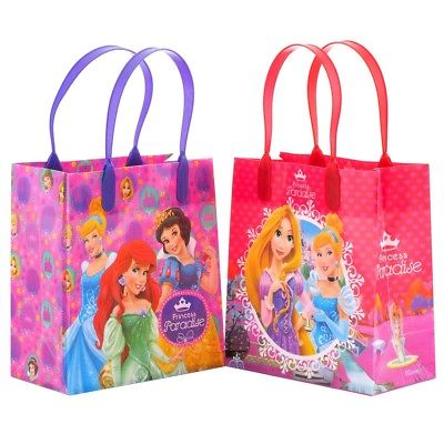 12PCS Disney Princess Goodie Party Favor Gift Birthday Loot Reusable - Diy Halloween Loot Bag