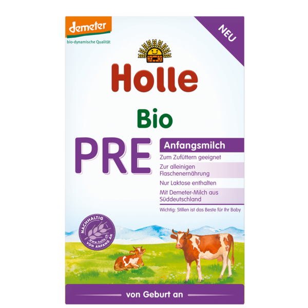Holle Organic Pre Stage 1 Baby Formula