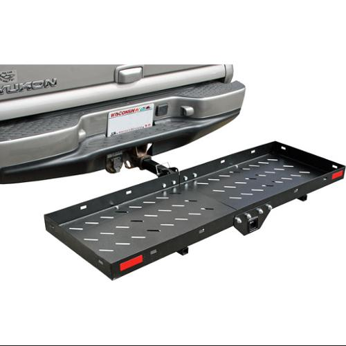 """Cargo Carrier Tray for Automotive and ATV 2"""" Class III/IV Hitch Receivers"""