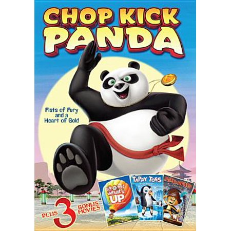 Chop Kick Panda / What's Up? / Puss in Boots / Tappy Toes (DVD) Toe Kick Duct