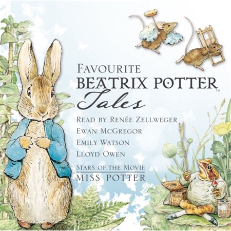 Favourite Beatrix Potter Tales  Read By Stars Of The Movie Miss Potter  Audio Cd