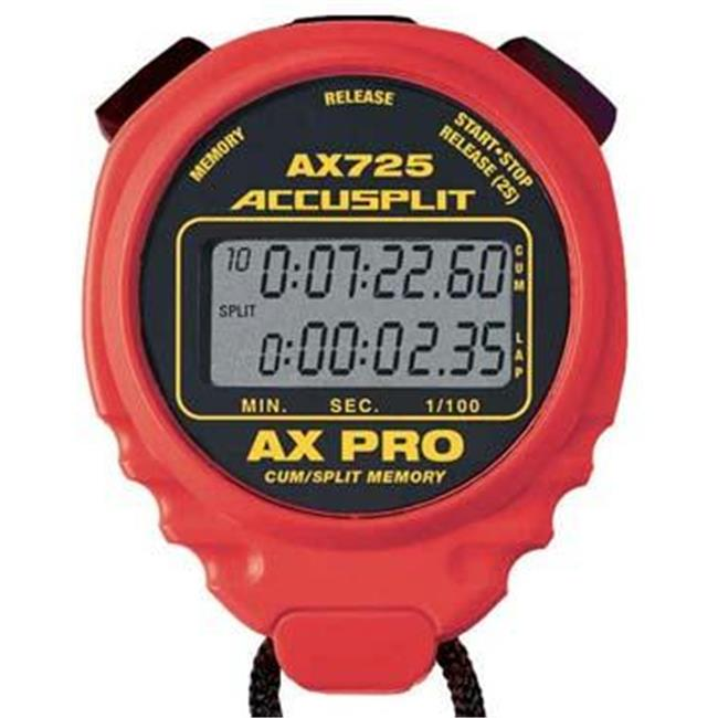 Olympia Sports TL003P ACCUSPLIT AX725 Pro Timer Red by Olympia Sports