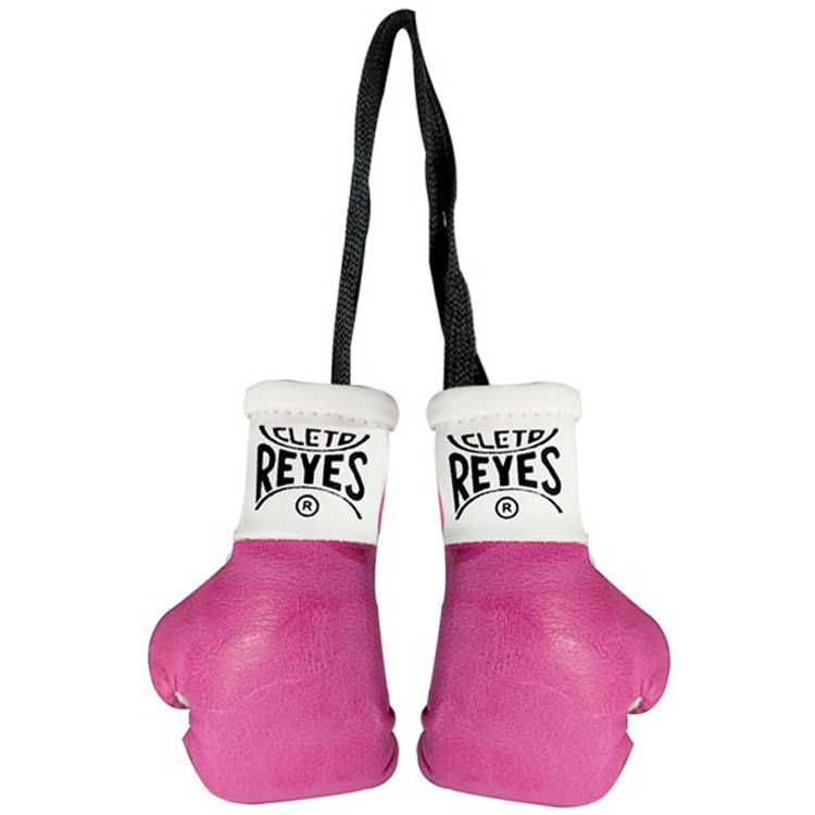 Cleto Reyes Miniature Pair of Boxing Gloves - Pink
