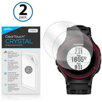 BoxWave ClearTouch Crystal HD Clear Film Screen Guard for Forerunner 225, 2-Pack
