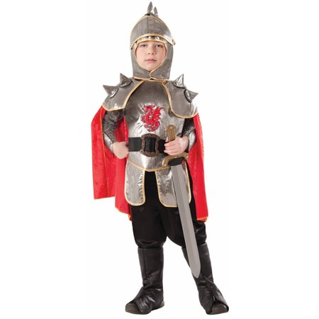 Halloween Child Silver Knight Costume - Knight Costume For Women