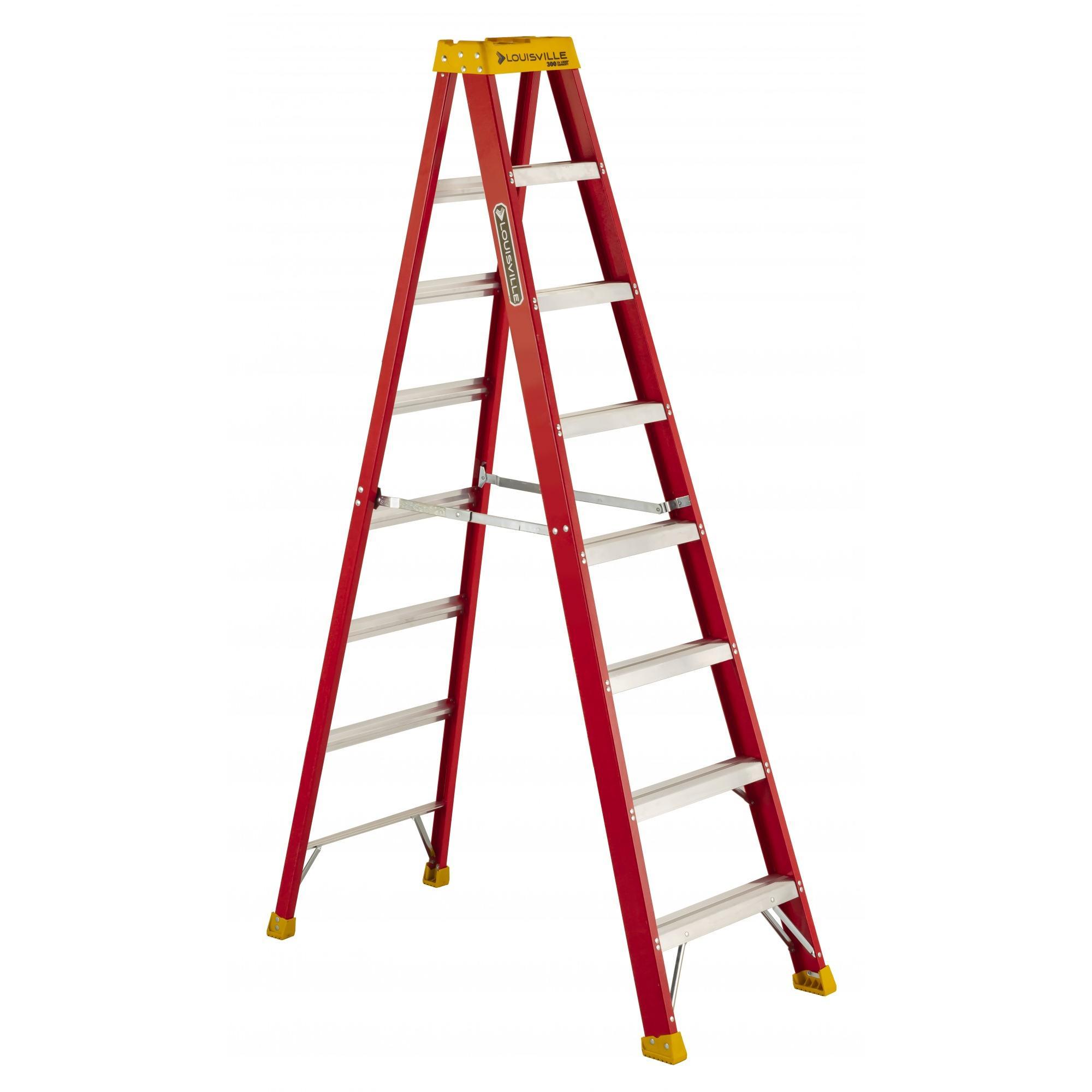 Louisville Ladder 8 ft. Fiberglass Ladder