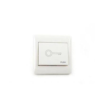 Wired Push Button for Any Gate or Garage Door Opener (Lighted Garage Door Button)