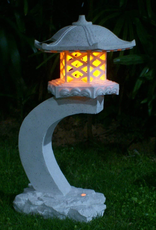 24u201dheight Japanese Style Lantern Solar Garden Lamp Solar Pagoda Light