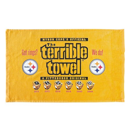 Pittsburgh Steelers Rings Terrible Towel - No Size