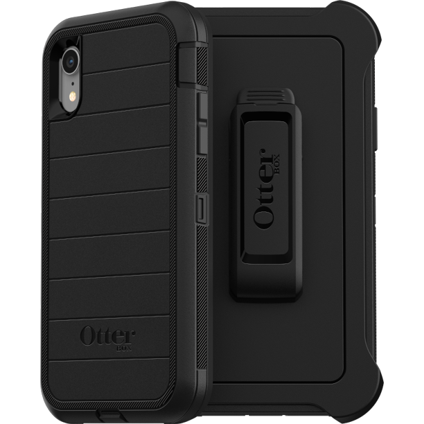 OtterBox Defender Series Pro Phone Case for Apple iPhone XR - Black