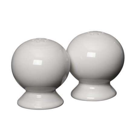 Fiesta 2-1/4-Inch Salt and Pepper Set, White, Includes one salt and pepper shaker set By Homer Laughlin