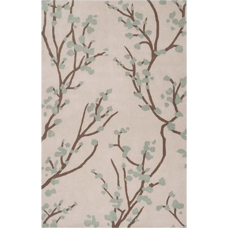 SURYA Hudson Park 8' x 10' Hand Tufted Rug in Gray