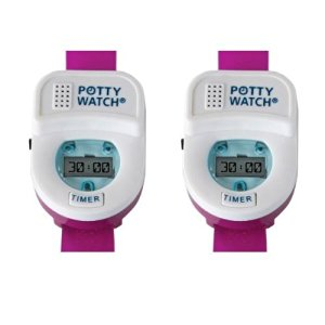 Potty Watch Potty Training Timer, 2 Pack - Pink