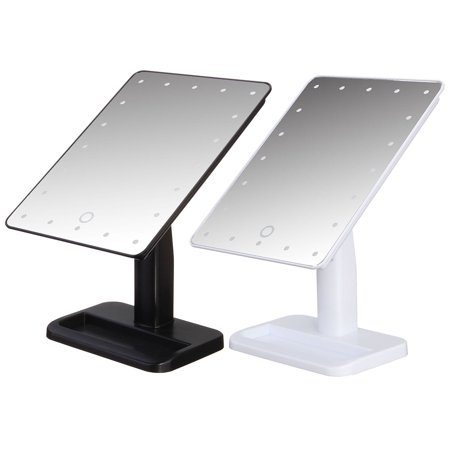 20 Led Lighted Makeup Mirror Touch Screen Battery Operated