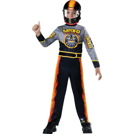 Monster jam max d child halloween costume M (8-10)