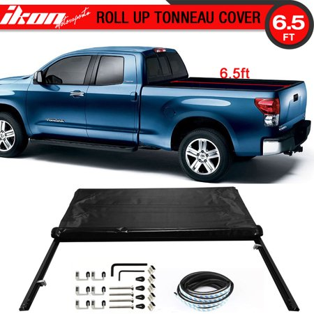 Fits 07-13 TOYOTA TUNDRA 6.5ft / 78in Bed Lock Soft Roll Up Tonneau
