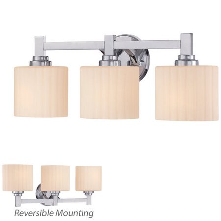 Miseno Tst0590c Reversible 3 Light Bathroom Vanity Fixture Polished Chrome