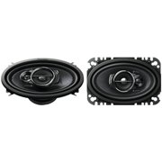 Pioneer 200W 4x6 Inch 3 Way 4 Ohms Coaxial Car Audio Speakers Pair | TS-A4676R