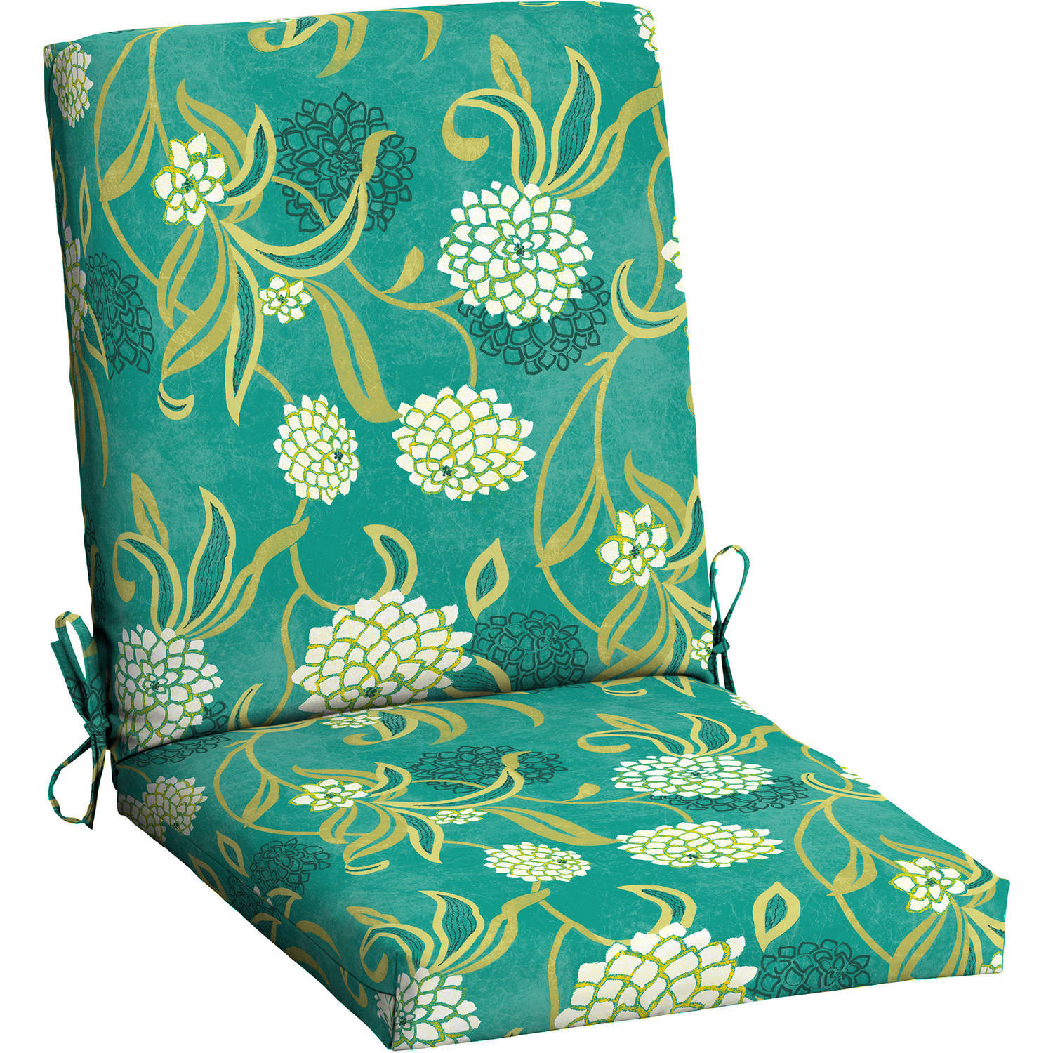 patio dining chair cushions. Mainstays Outdoor Patio Dining Chair Cushion Cushions I
