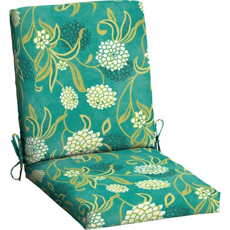 Mainstays Outdoor Patio Dining Chair Cushion