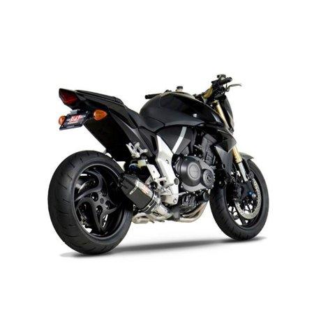 Carbon Yoshimura Race Exhaust - Yoshimura 1210043220 R-77D Race Series 3/4 Exhaust - Carbon Fiber Muffler