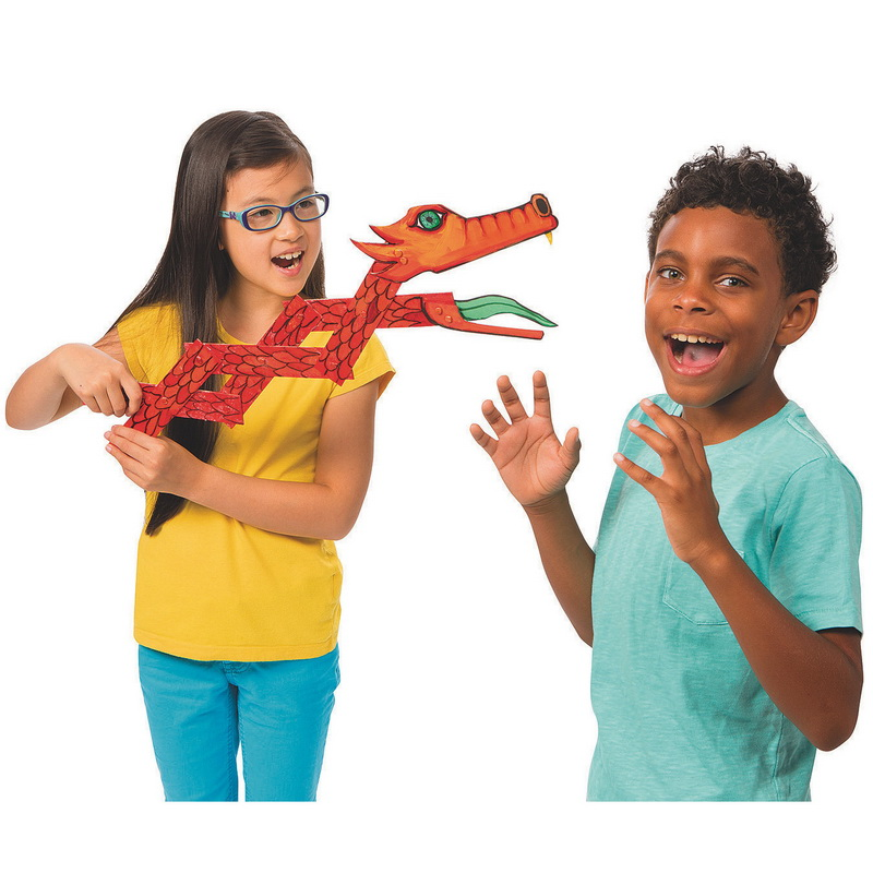 (Price/Pack of 24)Color-Me Color-Me Dragon Gizmo