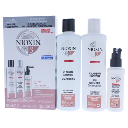 Nioxin System 3 Colored Hair Light Thinning Kit